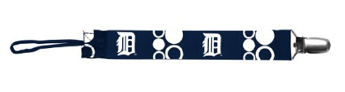 Baby Fanatic Pacifier Clip, Detroit Tigers (Discontinued by Manufacturer) - 1