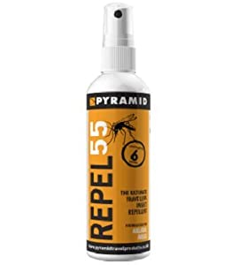 Pyramid Repel 55 Insect/Mosquito Repellent Deet Spray - 120ml