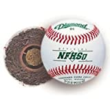Diamond D1-NFHS Official Baseballs (1 dozen) Cushioned Cork Center