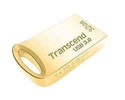Transcend JetFlash 710 32 GB USB 3.0 Pen Drive (TS32GJF710G), Silver