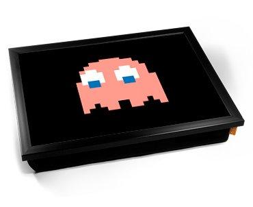 Pac-Man Classic Pink Cushion Lap