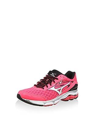 Mizuno Zapatillas de Running Wave Inspire 12 (Rosa / Blanco)
