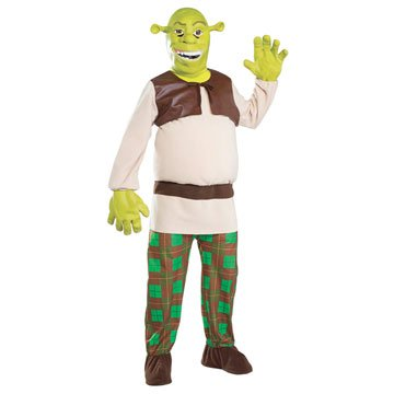 Shrek Super Deluxe Shrek Adult Costume