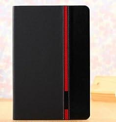 Taslar Crazy Horse Series Flip Cover Stand Case For Xiaomi Mi Pad 7.9 Tablet (Black)
