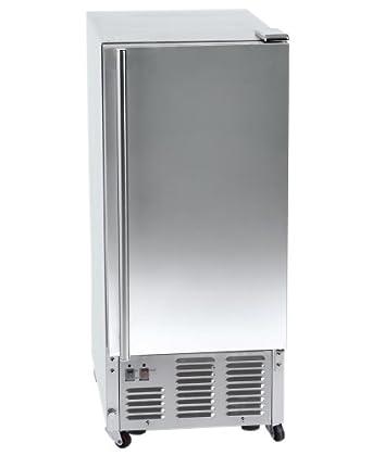 Orien 44 lb Outdoor Stainless Steel Ice Maker
