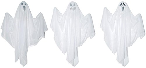 Morris Costumes Halloween Outfit Hanging Ghost Asst 18 Inch