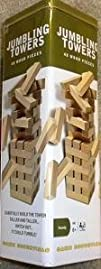 Tumbling Towers Wood Block Game in Co…