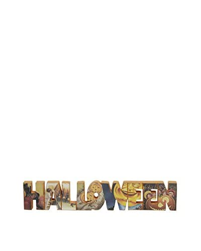 """Halloween"" Word Blocks"