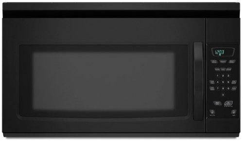 Amana AMV1150VAB 1.5 cu. ft. Over-the-Range Microwave Oven with 1,000 Cooking Watts, 10 Power Levels, Two-Speed Fan/220 CFM Exhaust Hood, Touchmatic Controls and Cooktop Surface Light: Black