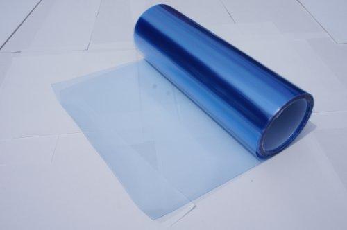 Headlights, Tail Lights, Fog Lights Tint Vinyl Film, Self Adhesive (Small 12''X48'', Frozen Light Blue) (Light Blue Vinyl Spray compare prices)