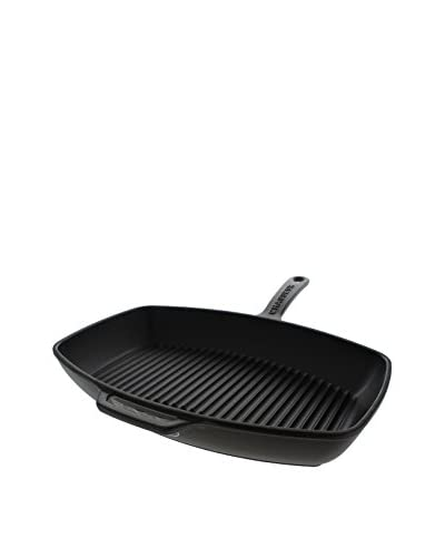 Chasseur 8 x 12 Rectangular Grill Pan, Black