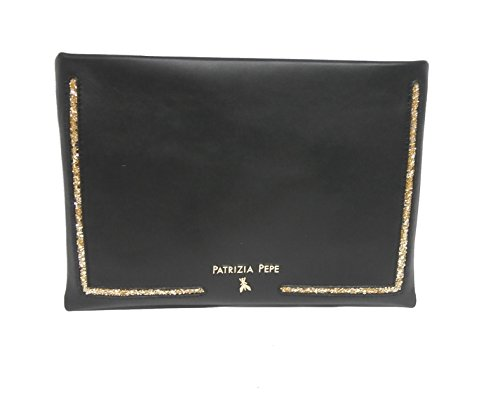 Patrizia Pepe busta 1V349AN84F2FV nera glitter oro