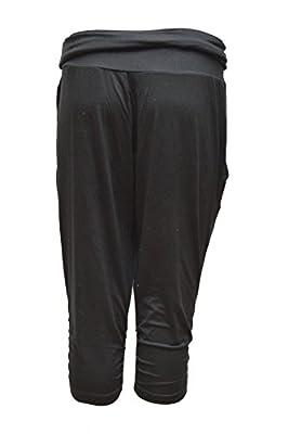 Nike Womens Dri-Fit Ace Crop Training Capris-Black-Medium