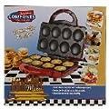 American Comforts Mini Pancake Maker 8 Mini, Non-Stick Countertop