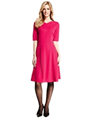 M&S Collection Panelled Skater Dress