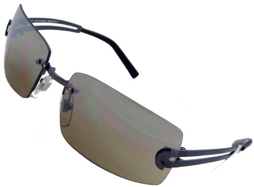 Dolce & Gabbana D&G 413S D74 Fashion Sunglasses, Gray Frame/ Brown Lenses/ Fade Silver Flash