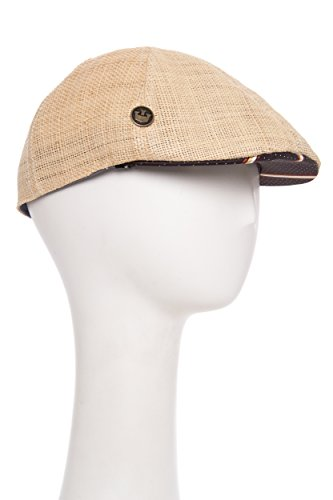 Goorin Bros. Men's Ford Six-Panel Woven Flatcap Hat