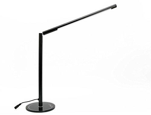 Lampada da Tavolo Dimmerabile, LIHAO 5W Lampada da Scrivania a Intensità Variabile 48LED Bianco Caldo