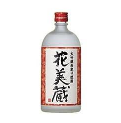 粕取り焼酎:花美蔵・大吟醸粕取り焼酎 AL25% 720ML 箱入り