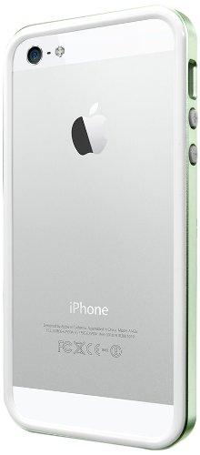 国内正規品SPIGEN SGP iPhone5/5S ケース ネオ・ハイブリッド EX スリム メタルシリーズ[メタル・グリーン] SGP10035