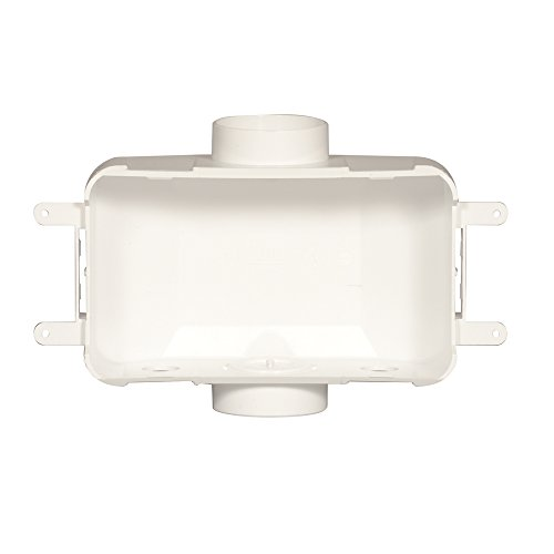 Oatey 38120 Centro Plain Washing Machine Outlet Box, 3.5-Inch