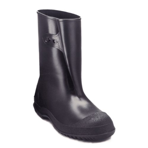 tingley-rubber-35121-workbrutes-pvc-10-inch-overshoe-with-button-x-large-black