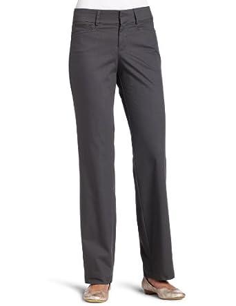 Dockers Women's Petite Metro Trouser Pant, Hurricane, 4 Medium