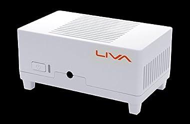 【オンライン限定ゴム足付属】 ECS 小型ベアボーンPC LIVA MINI PC KIT 64GBモデル LIVA-C0-2G-64G-W