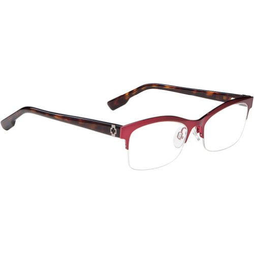 Spy Optic Avery Rx Eyeglasses - Spy Optic Adult Optical Prescription Frame - Burgundy / Size 52-17-135 front-340562