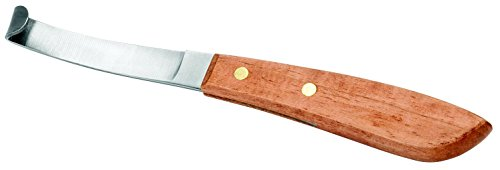 "Weaver Leather LFT HAND 8"" HOOF KNIFE SS BLD"