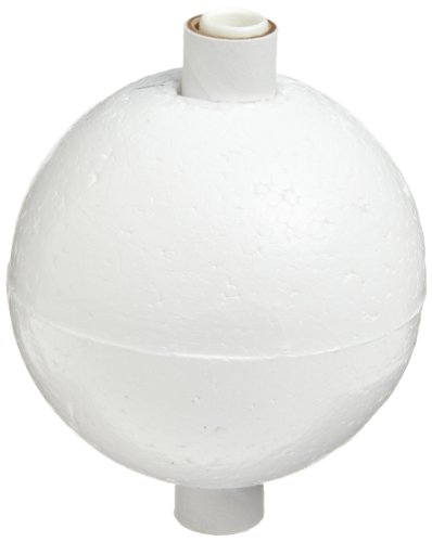 "Molecular Models White Polystyrene H-Bond Hydrogen Atom Center, 2"" Diameter"