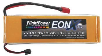 EONX30-22003S EONX 30 LiPo 3S 11.1V 2200mAh 30C