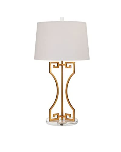 Max & Nellie Wagner Greek Key Table Lamp