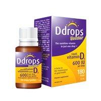 Ddrops Liquid Vitamin D3 #180 Drops 2000 Iu - 0.17 Oz, Pack of 3 (Ddrops 2000 compare prices)