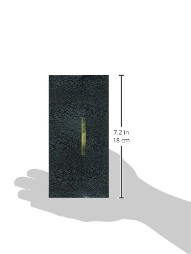 KJV, Checkbook Bible: King James Version Black Bonded Leather Classic Companion Bible