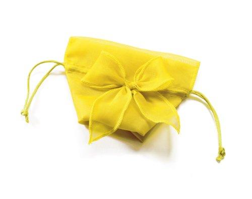 Weddingstar-Organza-Drawstring-Bags-with-Decorative-Bow-Lemon-Yellow