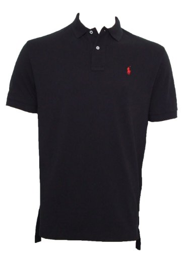 Ralph Lauren Polo Shirt - Classic Fit - Black - Medium