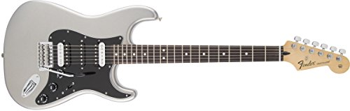 Fender Standard Stratocaster Electric Guitar - HSH - Rosewood Fingerboard, Ghost Silver (Fender Blacktop Stratocaster Hh compare prices)