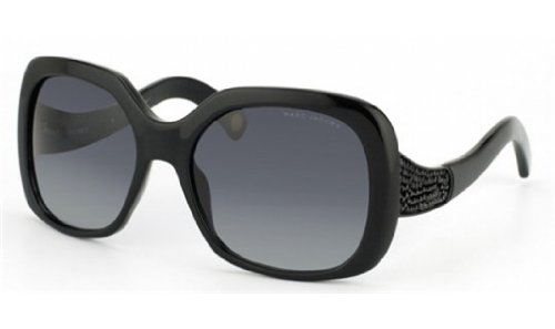 Marc Jacobs Marc Jacobs MJ428/S Sunglasses-0807 Black (HD Gray Gradient Lens)-57mm