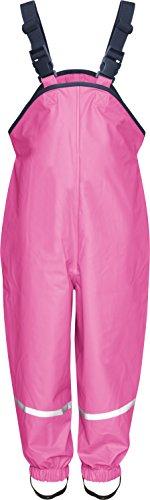 Playshoes - Pantaloni impermeabili, Bambini e ragazzi, Rosa (Pink), 24 mesi