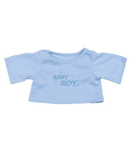 "Baby Boy T-Shirt Outfit Teddy Bear Clothes Fit 14"" - 18"" Build-a-bear, Vermont Teddy Bears, and Make Your Own Stuffed Animals - 1"
