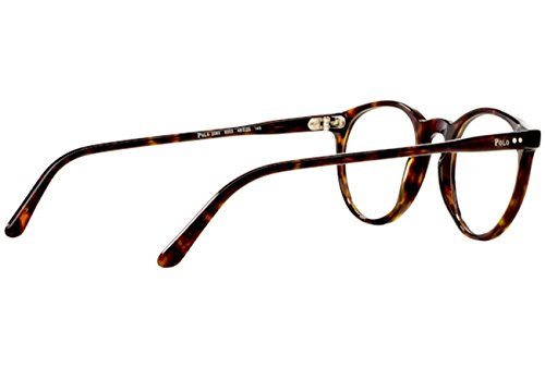 Polo Eyeglass Frame Parts : Polo PH2083 Eyeglass Frames 5003-48 - Shiny Dark Havana ...