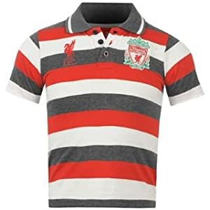 Source Lab Liverpool FC YD Polo Shirt Junior Carbon 6-7 (SB)