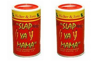 Slap Ya Mama Cajun Seasoning Hot Blend Two Pack