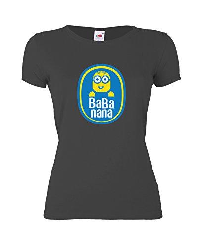 GIOVANI-RICCHI-Camiseta-para-mujer-negro-XX-Large