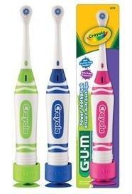 G-U-M Power Toothbrush, Crayola