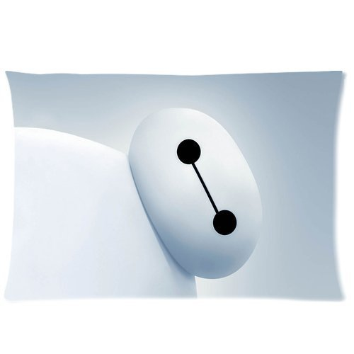 Custom Big Hero 6 Pillowcase Hiro Baymax 20x30 Inches Two Sides Printed Pillow Case Sham Rectangle Cushion Case Cover