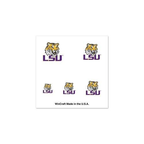 LSU TIGERS OFFICIAL LOGO FINGERNAIL TATTOOS at Amazon.com