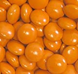 Candy Coated Chocolate Gems - Orange (2.5 lb bag)