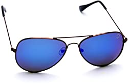 Optis Aviator Sunglasses (Brown Red) (SRSXC4L3)
